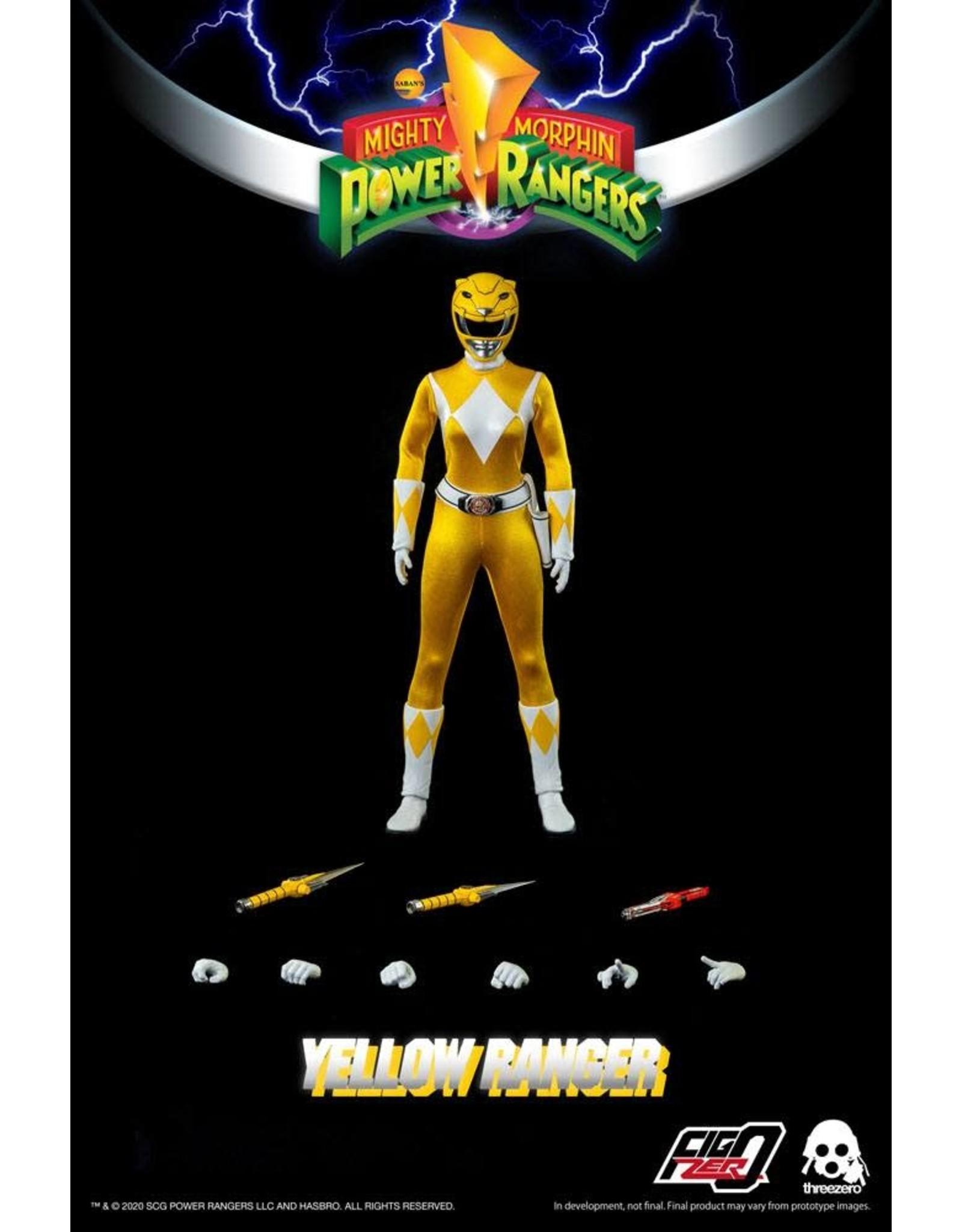 ThreeZero MIGHTY MORPHIN POWER RANGERS FigZero Action Figure 1/6 30cm - Yellow Ranger
