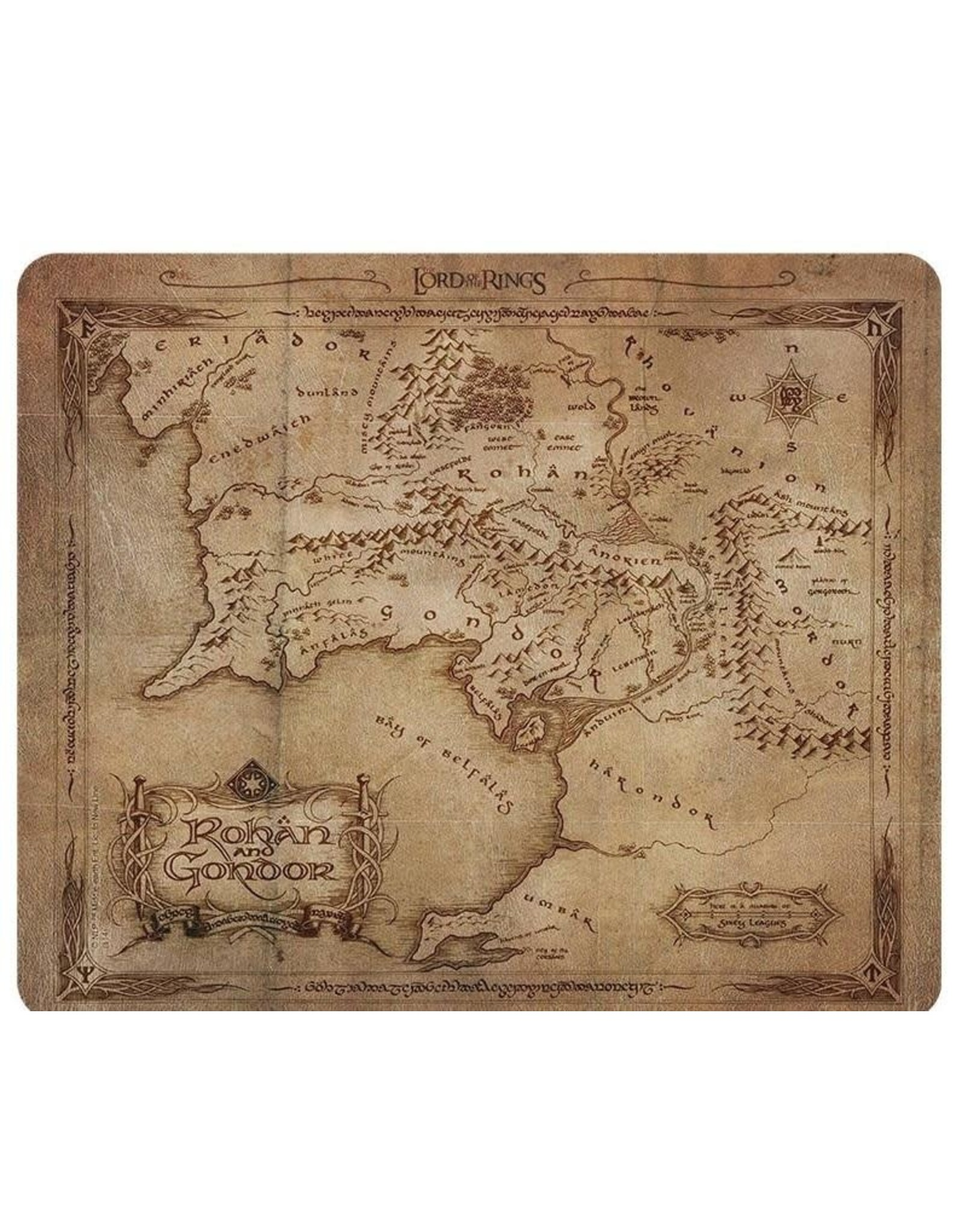 LORD OF THE RINGS Mouse Pad - Rohan & Gondor