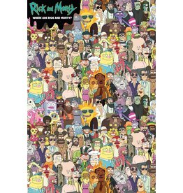 RICK AND MORTY Poster 61X91cm - Where's Rick?