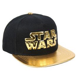 Cerda STAR WARS Premium Cap - Gold Logo