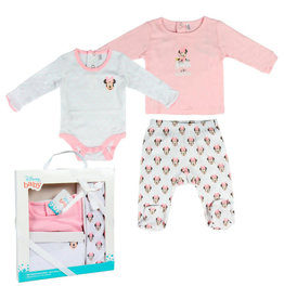 Cerda MINNIE MOUSE Welcome Baby Set 1-3M