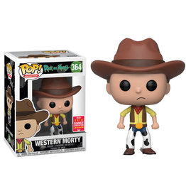 Funko RICK AND MORTY POP! N° 364 - Western Morty Exclusive