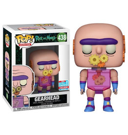 Funko RICK AND MORTY POP! N° 438 - Gearhead Exclusive