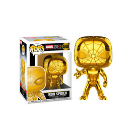 Funko MARVEL STUDIOS POP! N° 440 - Iron Spider Chrome Exclusive