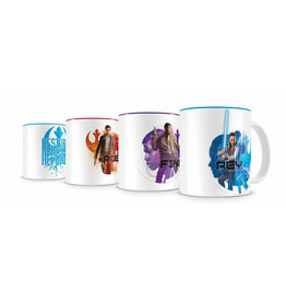 SD Toys STAR WARS Set of 4 Espresso Mugs - Resistance