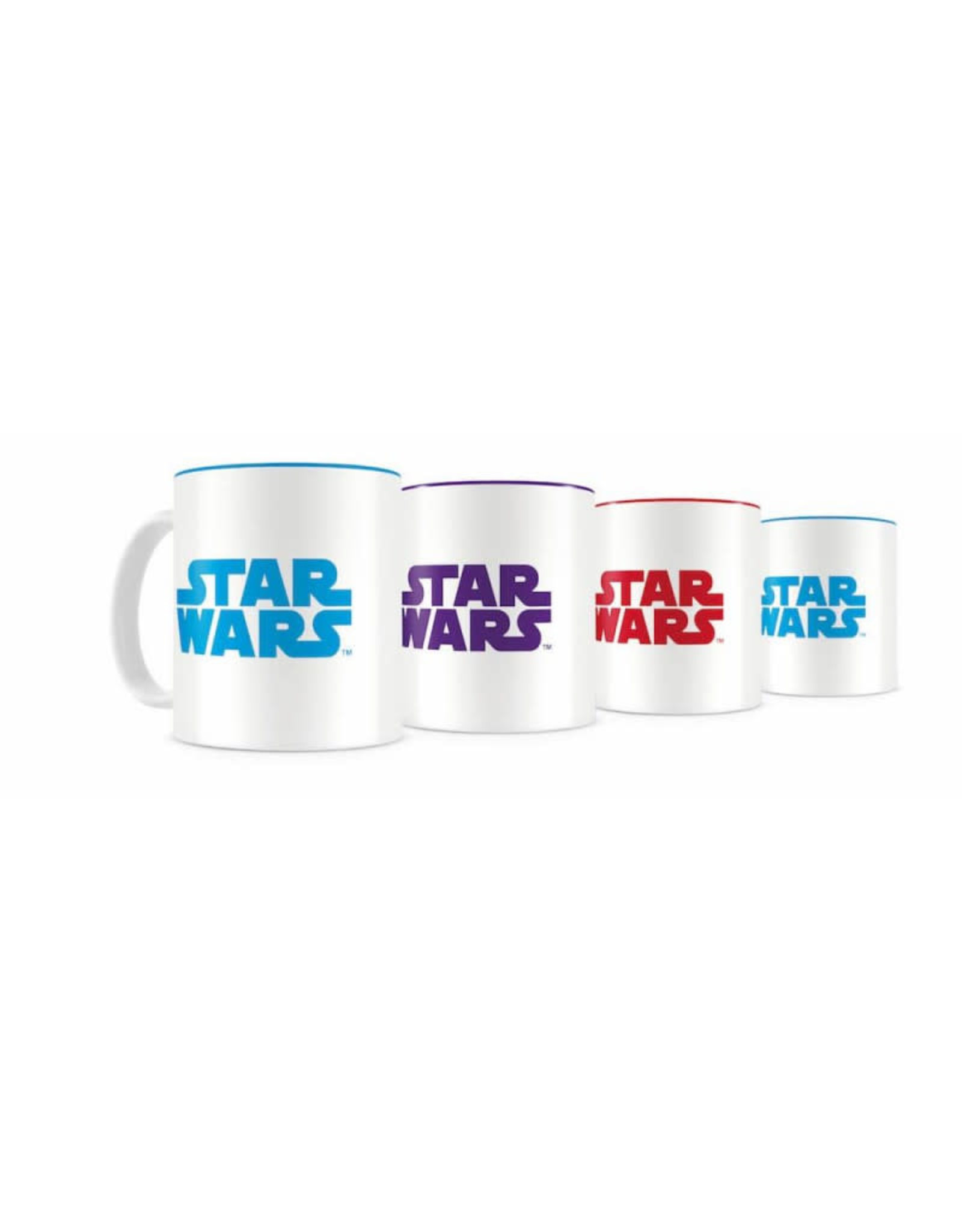SD Toys STAR WARS Set of 4 Espresso Mugs - Resistance