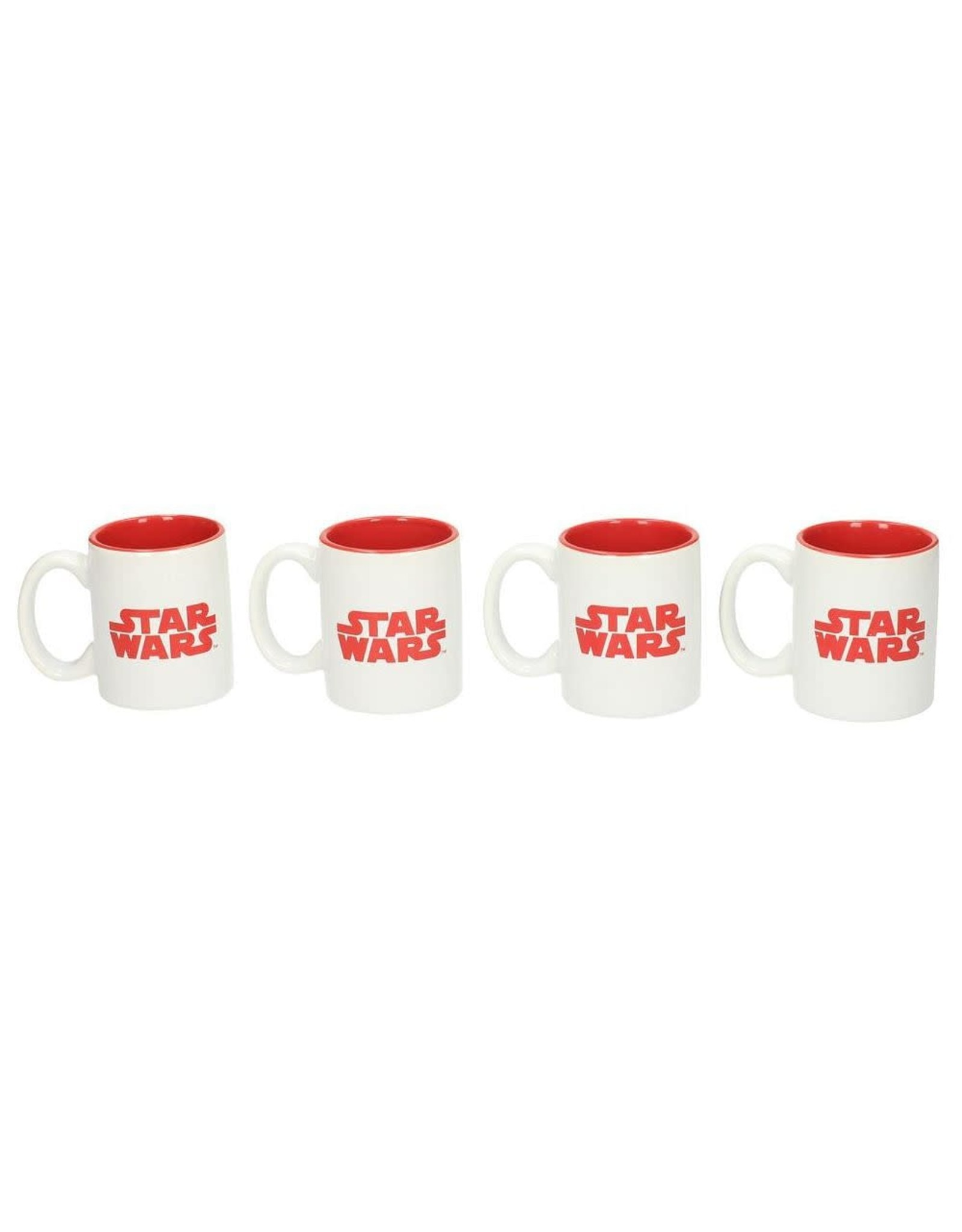 SD Toys STAR WARS Set of 4 Espresso Mugs - First Order
