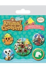 ANIMAL CROSSING Pack of 5 badges - Islander