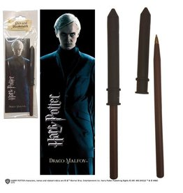 Noble Collection HARRY POTTER Pen + Bookmark - Draco Malfoy