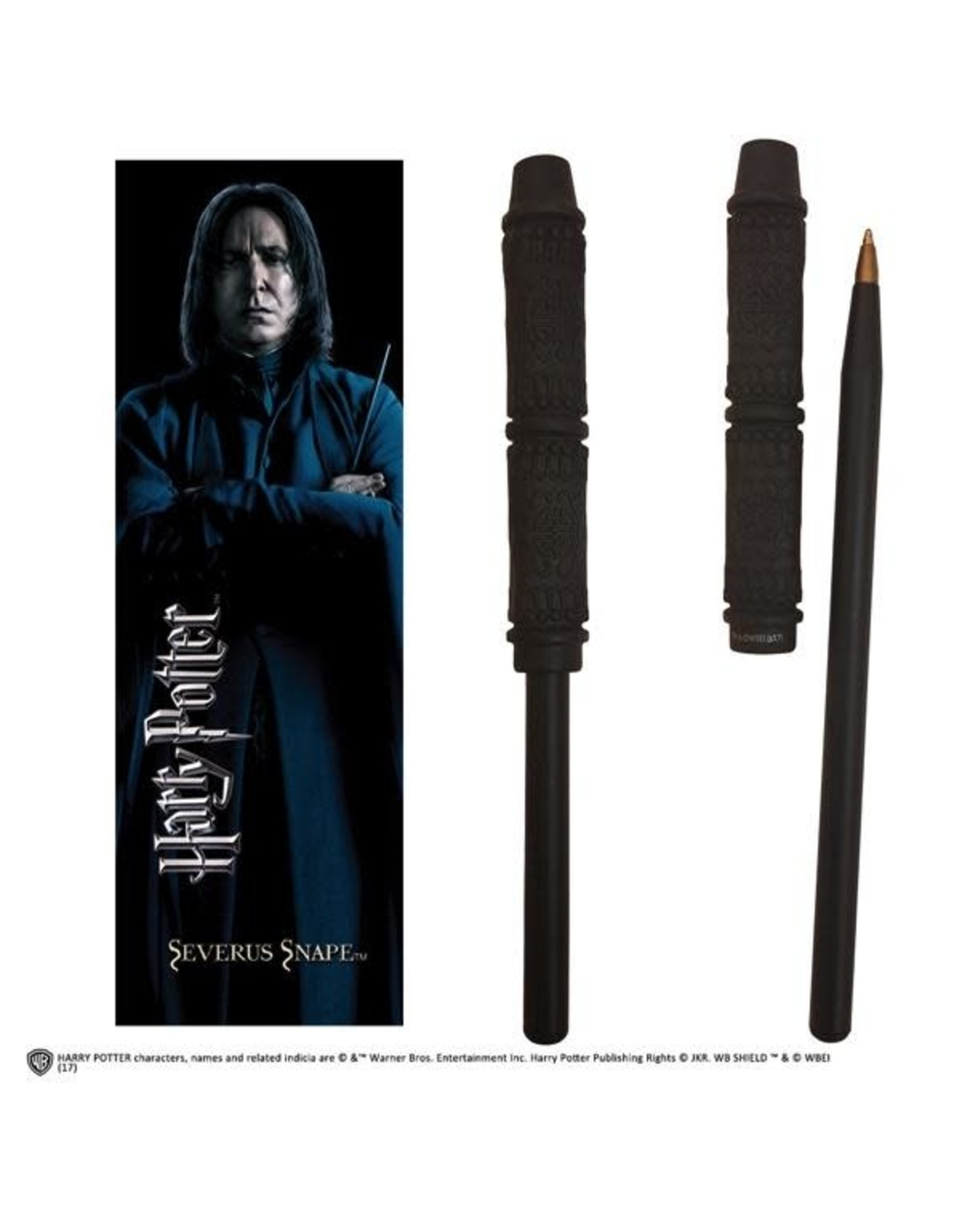 Noble Collection HARRY POTTER Pen + Bookmark - Snape