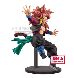 Bandai DRAGON BALL Heroes 9th Anniversary Figure 18cm - Super Saiyan 4 Gogeta Zeno