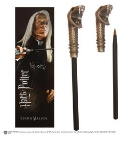Noble Collection HARRY POTTER Pen + Bookmark - Lucius Malfoy