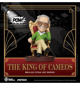 Beast Kingdom STAN LEE Figurine Mini Egg Attack 8cm - The King of Cameos