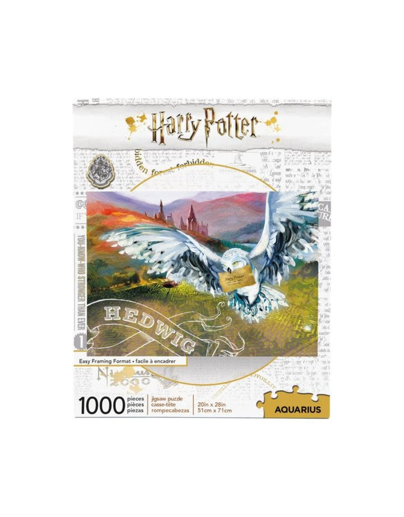 Aquarius Ent HARRY POTTER Puzzle 1000P - Hedwig