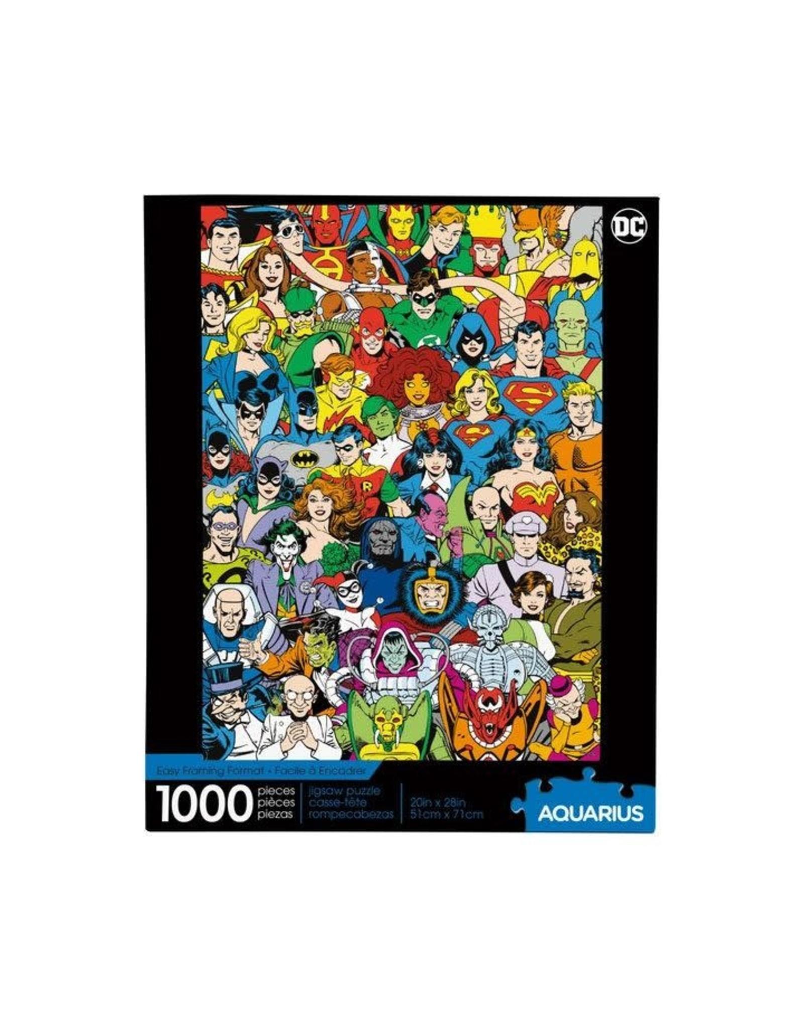 Aquarius Ent DC COMICS Puzzle 1000P - Retro Cast