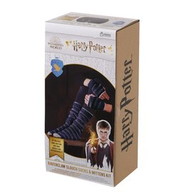 Eaglemoss HARRY POTTER Slouch Socks and Mittens Knit Kit - Ravenclaw