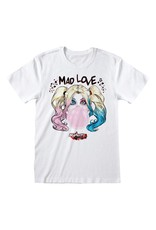 Heroes inc BATMAN T-Shirt GIRL - Harley Quinn Mad Love  (M)
