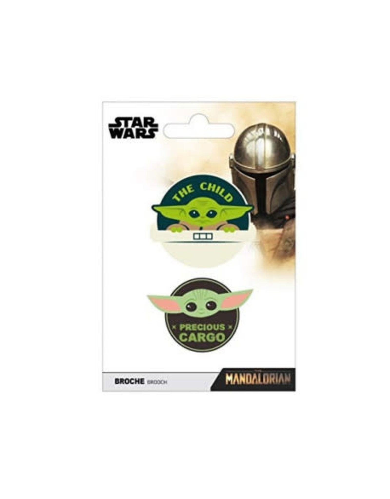 STAR WARS Set of 2 Pins -The Mandalorian: The Child