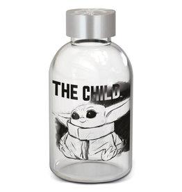 Stor STAR WARS Glass Bottle 620ml - The Mandalorian: The Child