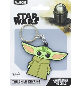 Paladone STAR WARS Rubber Keychain - The Mandalorian: The Child