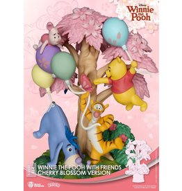 Beast Kingdom WINNIE THE POOH D-Stage Diorama 15cm - Winnie with Friends Cherry Blossom Version