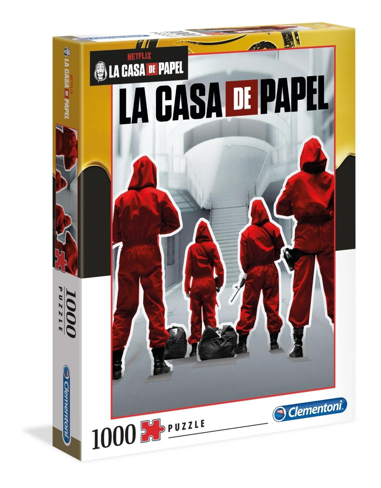 Clementoni CASA DE PAPEL Puzzle 1000P -  Backs