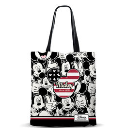 KARACTER MANIA MICKEY MOUSE Shopping Bag - U.S.A.