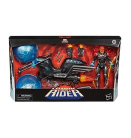 Hasbro MARVEL LEGENDS Action Figure 15cm - Cosmic Ghost Rider with Bike Vehicle