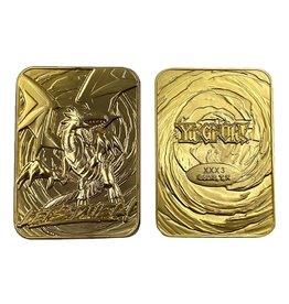 FaNaTtik YU-GI-OH! Gold 24K Plated God Card - Blue Eyes White Dragon LTD