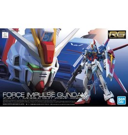 Bandai GUNDAM Model Kit RG - Force Impulse Z.A.F.T. Mobile Suit ZGMF-X56S/alpha