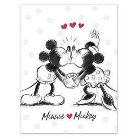 MICKEY MOUSE Ultra Soft Blanket 100X140 cm - Minnie Love Mickey