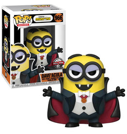 Funko MINIONS POP! N° 966 9cm - Dave'Acula Exclusive