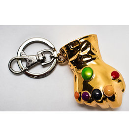 Semic Distribution THANOS 3D Metal Keychain Blister Box - Infinity Gauntlet