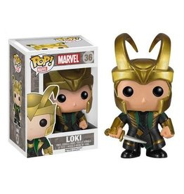 Funko THOR POP! N° 36 - Loki with Helmet