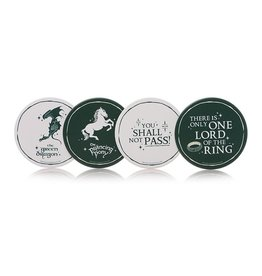 Half Moon Bay LORD OF THE RINGS - Set of 4 Coasters