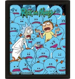 Pyramid International RICK AND MORTY 3D Lenticular Poster 26x20 - Mr.Meeseeks