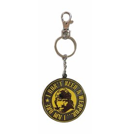 SD Toys CHUCK NORRIS Metal Keychain
