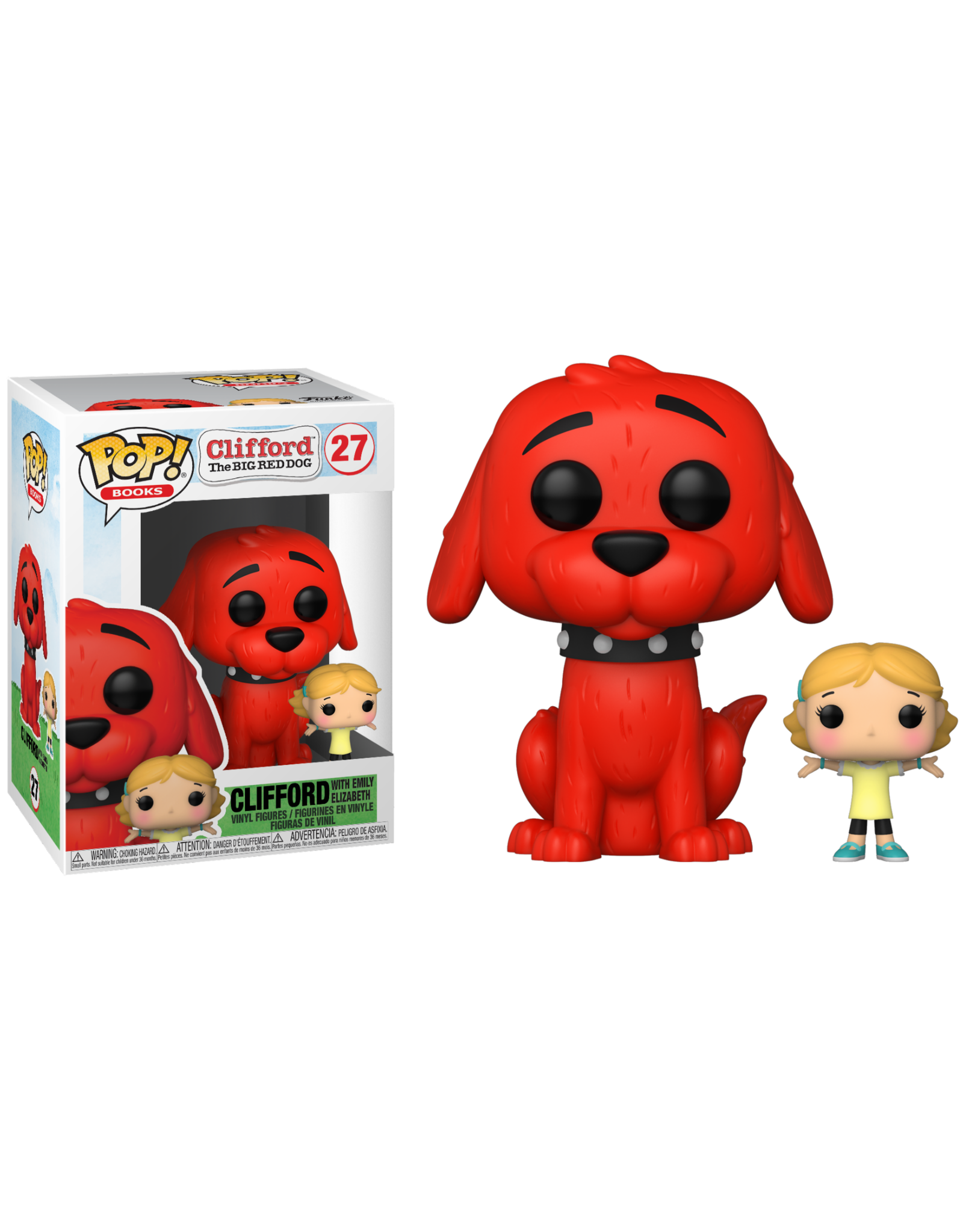 Funko CLIFFORD THE BIG RED DOG POP! - Clifford with Emily