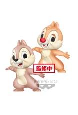 DISNEY - Fluffy Puffy - Chip & Dale - 7cm