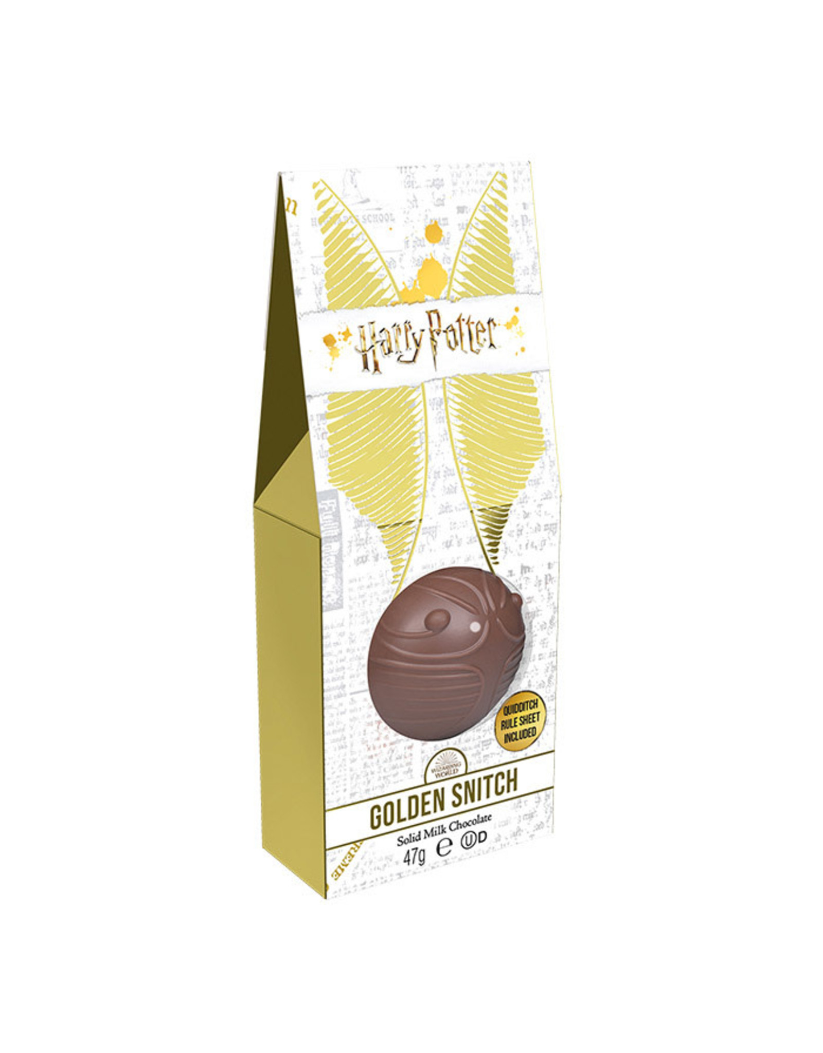 Jelly Belly HARRY POTTER Chocolate Golden Snitch + Quidditch rule sheet