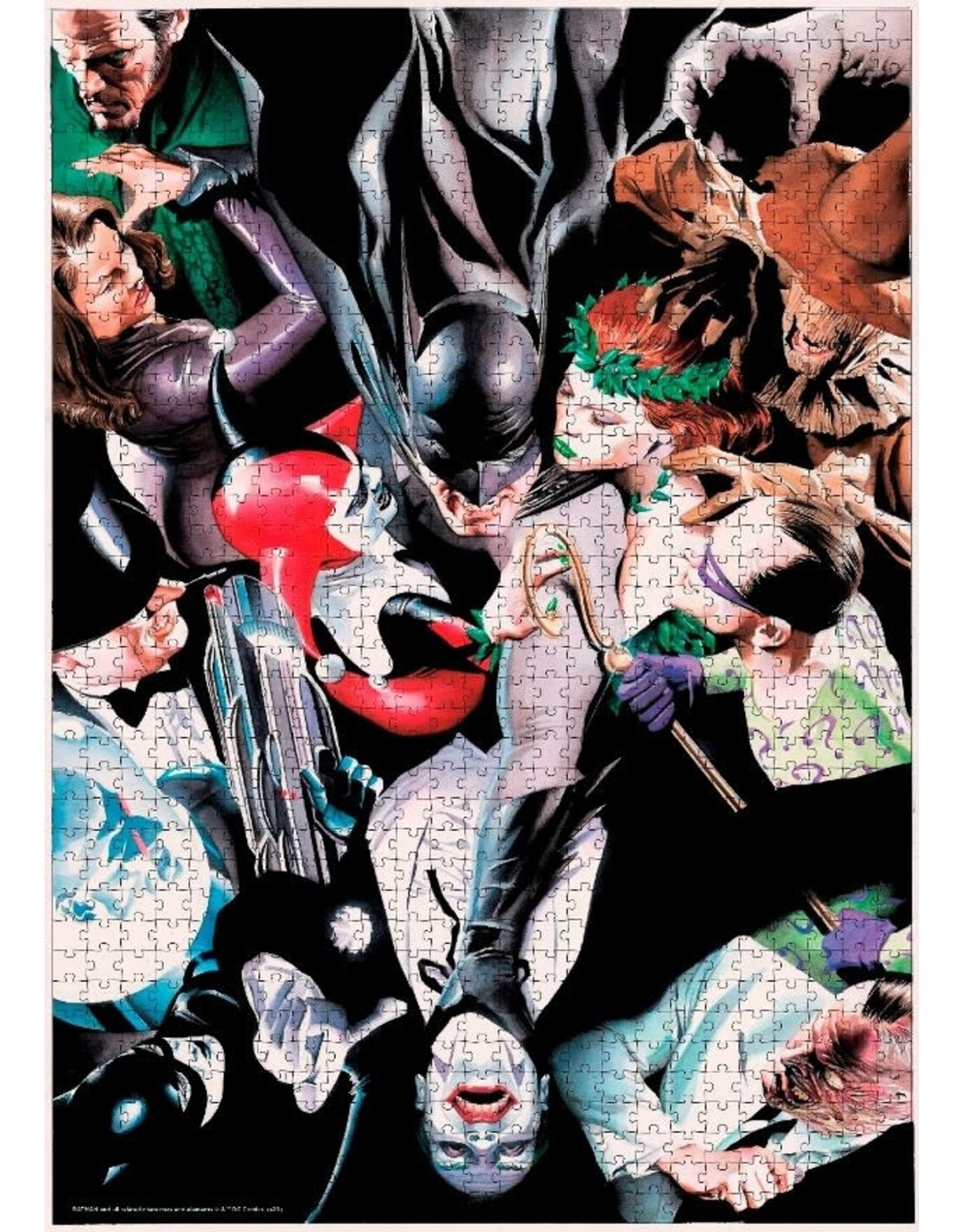 SD Toys BATMAN Puzzle 1000P - Enemies