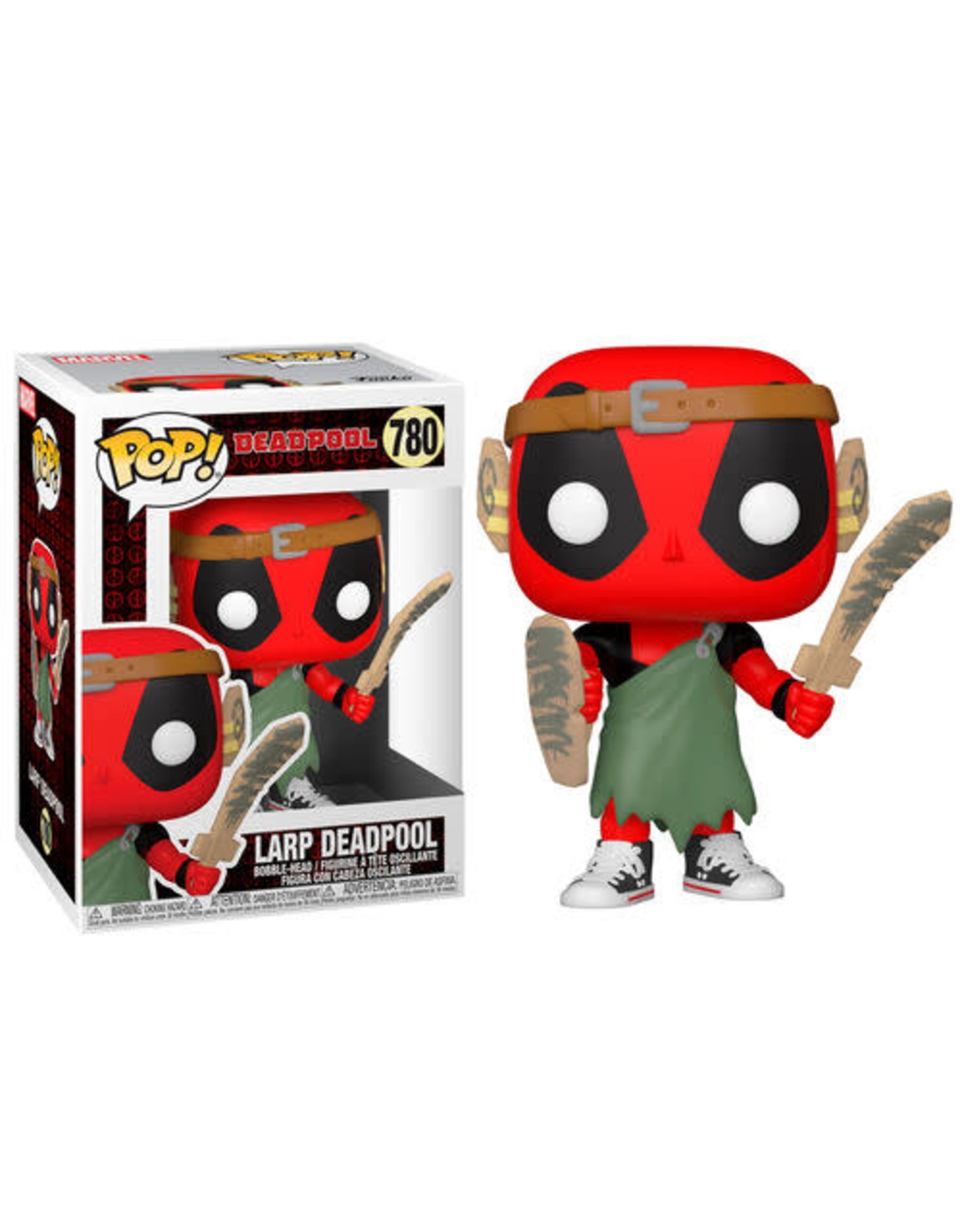 Funko DEADPOOL 30th Anniversary POP! N° 780 - LARP Deadpool