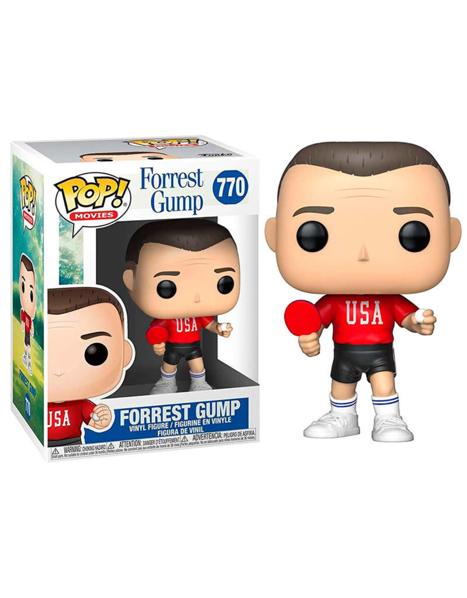 Funko FORREST GUMP POP! N°770 - Ping Pong Outfit