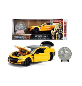 Jada Toys TRANSFORMERS  Diecast Model 1:24 - Bumblebee