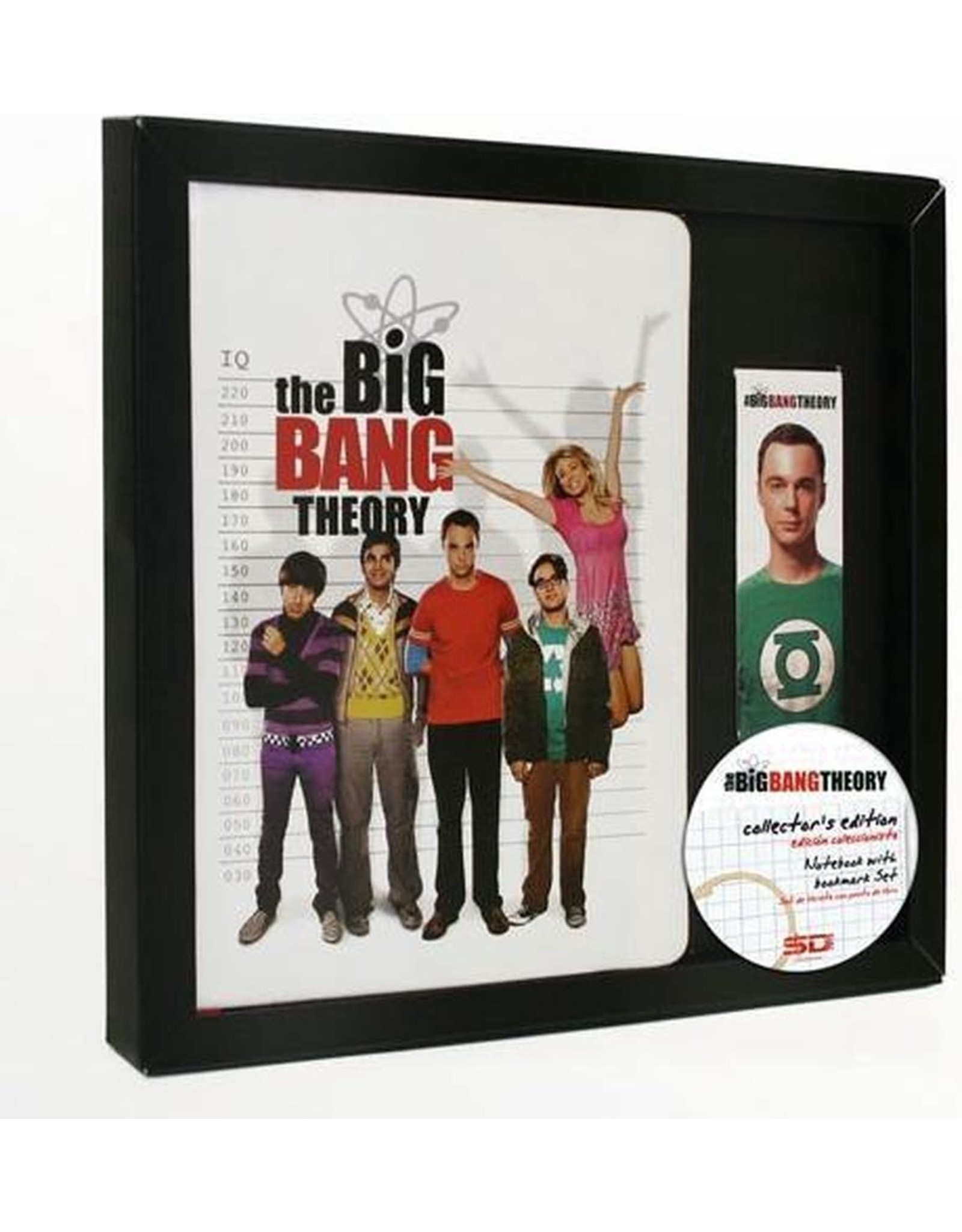 BIG BANG THEORY - GIFT SET Notebook + Magnetic Bookmark