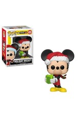 DISNEY - Bobble Head POP N° 455 - Mickey 90th - Holiday Mickey