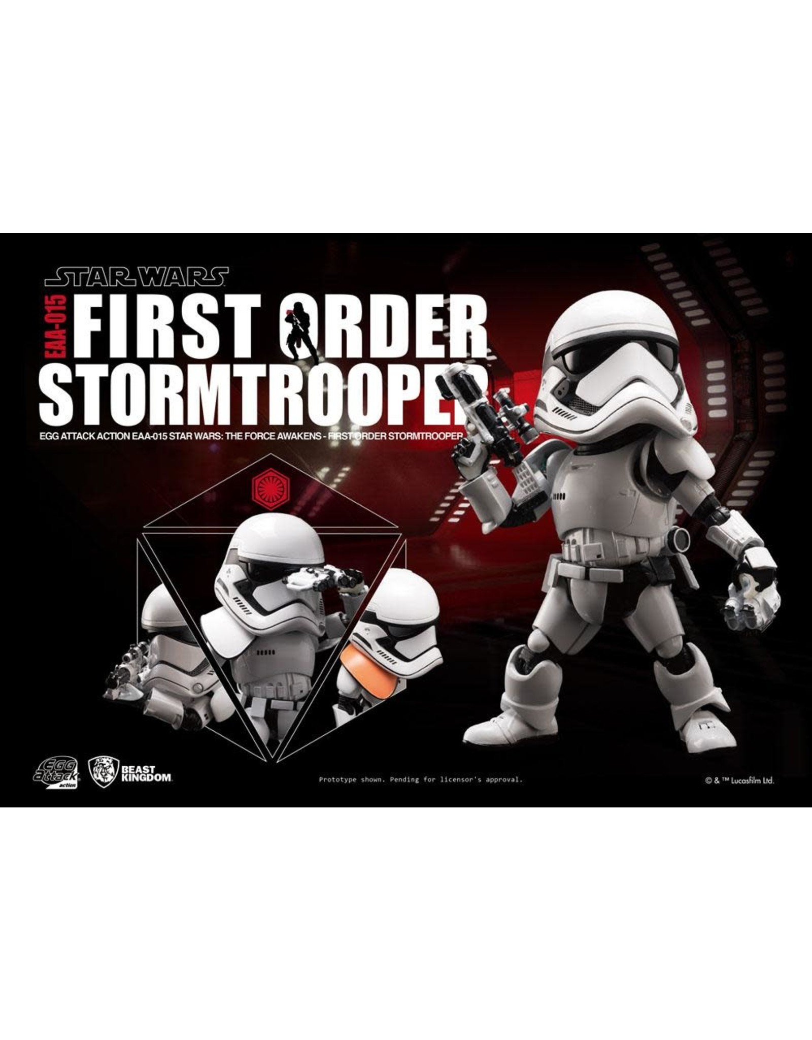 Egg Attack Action EAA-015 - Star Wars VII - First Order Stromtrooper