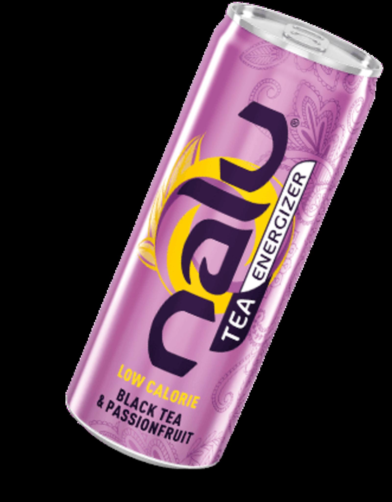 Energy Beverages NALU Black Tea & Passionfruit 25cl