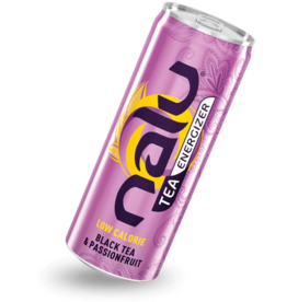 Energy Beverages NALU Black Tea & Passionfruit 25cl