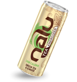 Energy Beverages NALU Green Tea & Ginger 25cl